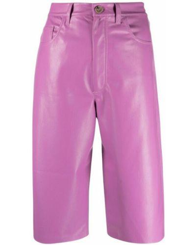 Różowe spodnie Nanushka