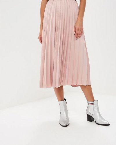 Плиссированная юбка итальянский розовая Miss Miss By Valentina