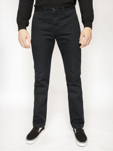 Czarne spodnie materiałowe Vans