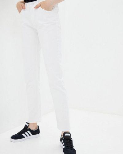 Белые джинсы-скинни Frankie Morello