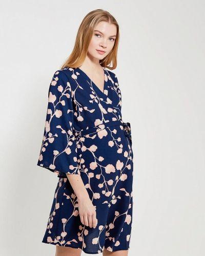 Синее платье для беременных Mama.licious