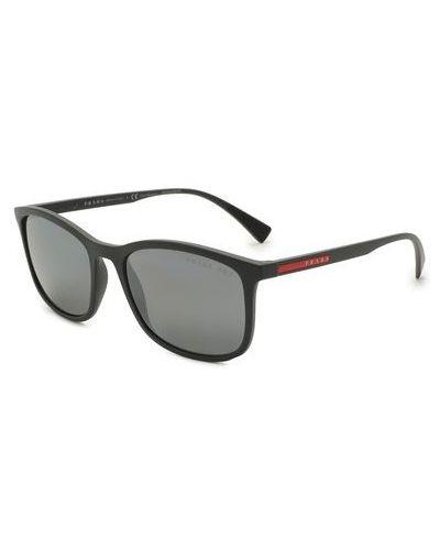 Серые солнцезащитные очки Prada Linea Rossa