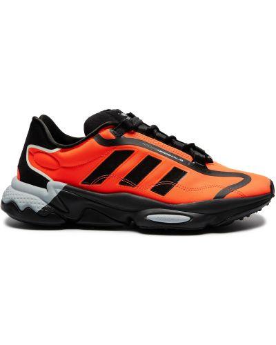 Текстильные кроссовки - оранжевые Adidas