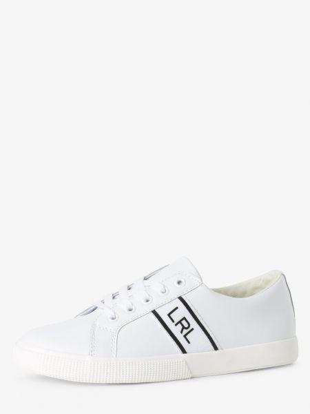 Białe tenisówki Lauren Ralph Lauren