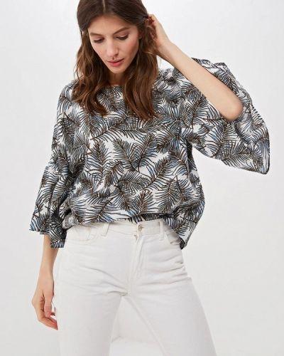 Блузка с коротким рукавом белая весенний Fashion.love.story