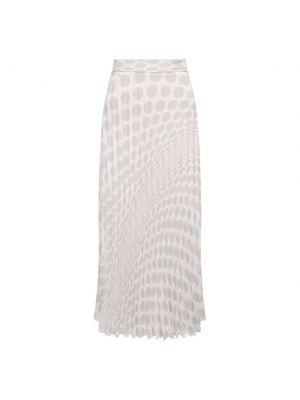 Плиссированная юбка - белая Mm6