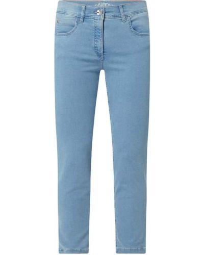 Niebieskie jeansy bawełniane Zerres