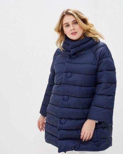 Утепленная куртка - синяя Camomilla Italia