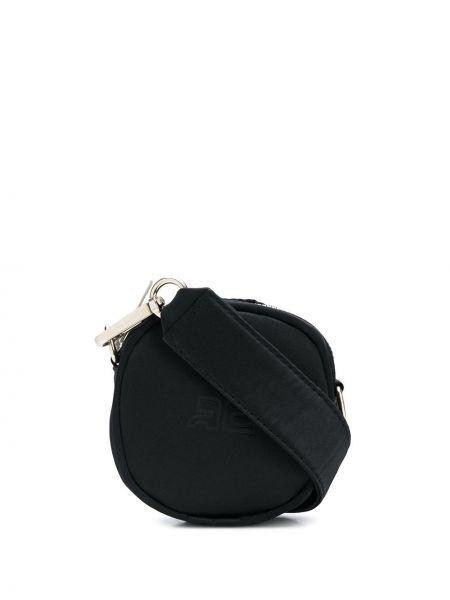 Czarna torebka bawełniana Courreges