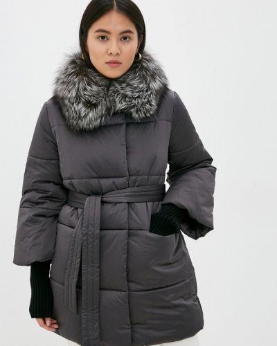 Теплая серая зимняя куртка Conso Wear