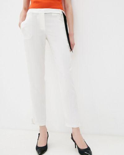 Повседневные белые брюки Trussardi