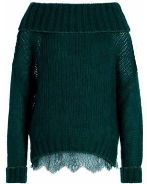 Sweter z moheru zielony Twinset