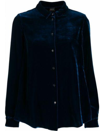 Рубашка с длинным рукавом в полоску без воротника Aspesi