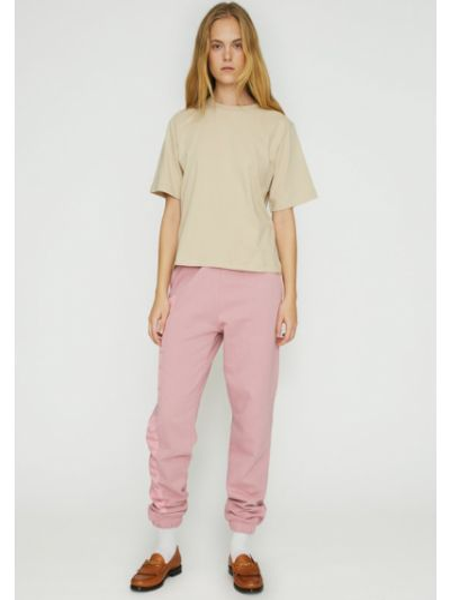 Różowe spodnie dresowe Rotate