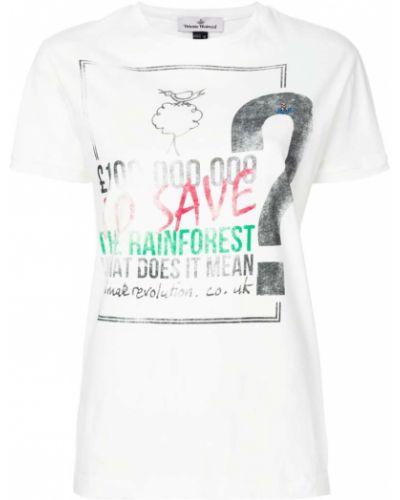 Белая футболка хлопковая Vivienne Westwood