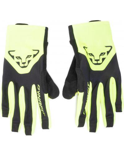 Żółte rękawiczki Dynafit