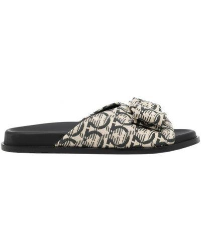 Czarne sneakersy Salvatore Ferragamo