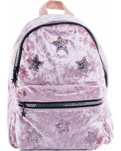 Брендовый розовый модный рюкзак котофей