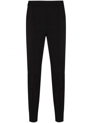Черные нейлоновые брюки с высокой посадкой Rosetta Getty