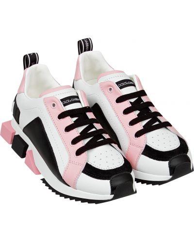 Черные кроссовки Dolce & Gabbana