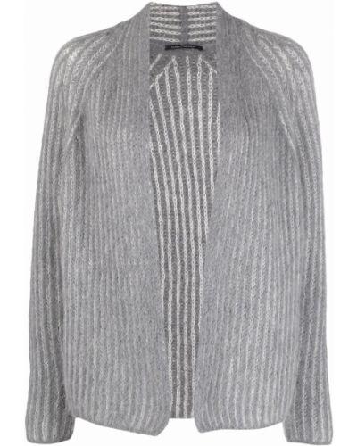 Кардиган из альпаки - серый Luisa Cerano