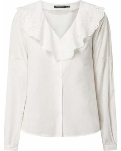 Biała bluzka bawełniana zapinane na guziki Soaked In Luxury