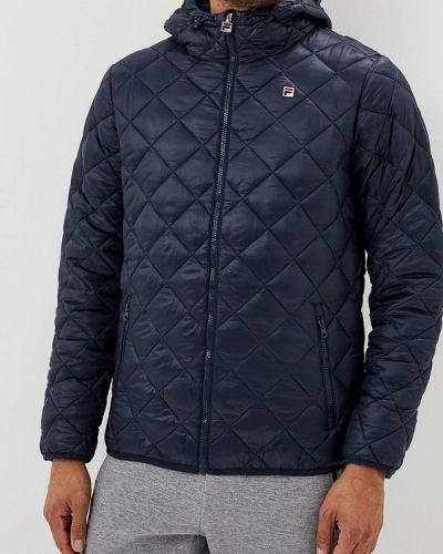 Утепленная куртка демисезонная осенняя Fila