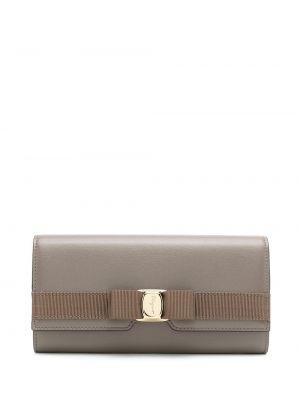 Кожаный кошелек - коричневый Salvatore Ferragamo