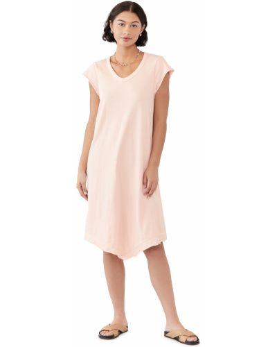Хлопковое платье рубашка с декольте Wilt