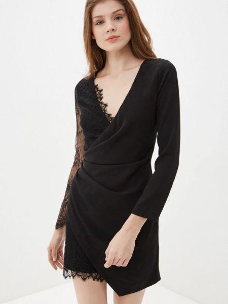 Вечернее платье черное весеннее Imperial