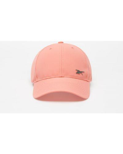 Różowa czapka Reebok