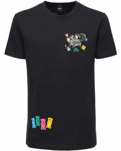 Czarny t-shirt Taboo