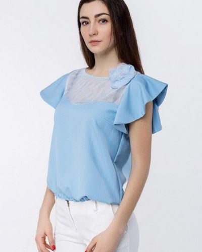 Блузка голубой Zubrytskaya