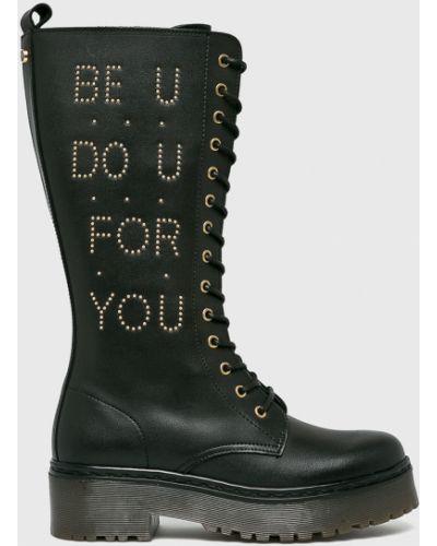 Джинсы на шнуровке на шнурках Trussardi Jeans
