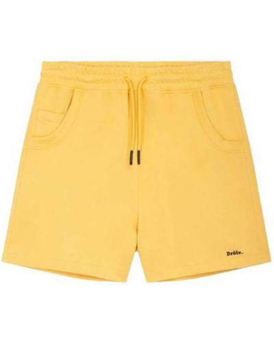 Żółte szorty Drole De Monsieur