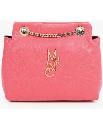 Красная сумка через плечо из натуральной кожи Marina Creazioni