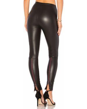 Spodnie ciepły czarne Plush