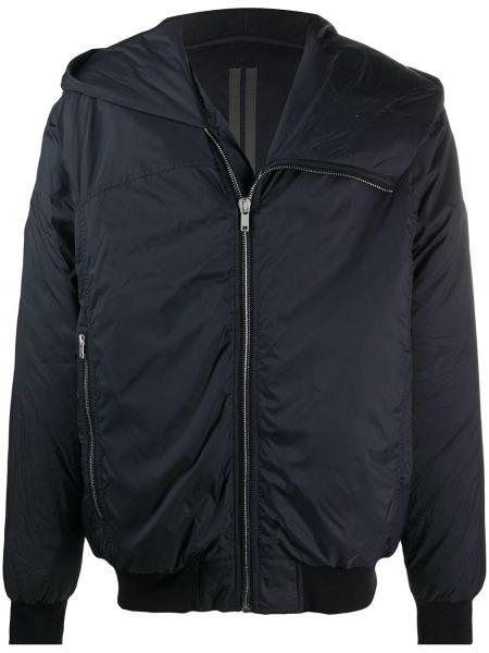 Klasyczny czarny płaszcz z kapturem Rick Owens Drkshdw