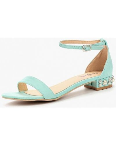 Бирюзовые сандалии Vera Blum
