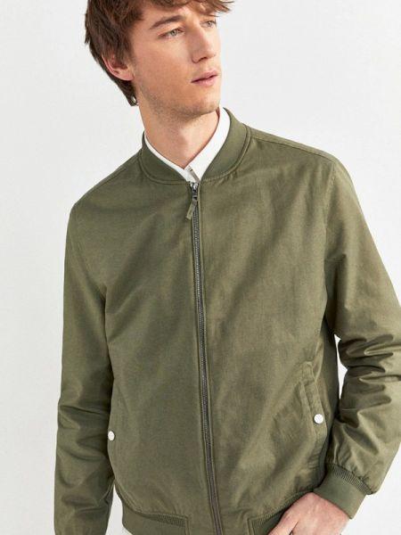 Куртка зеленая Springfield