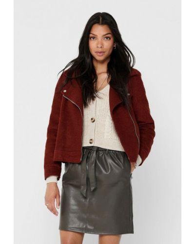 Облегченная коричневая куртка Only