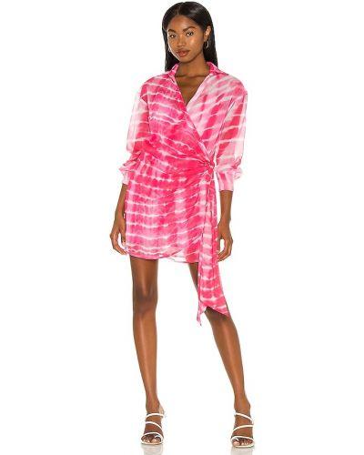 Платье с запахом - розовое H:ours