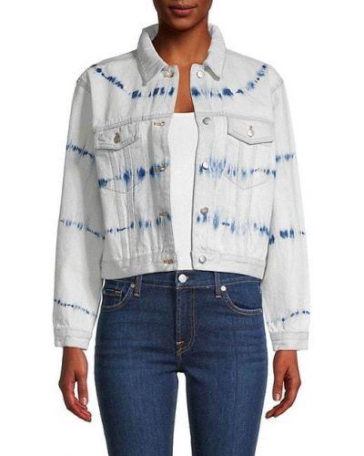 Ватная синяя джинсовая куртка с воротником 525 America