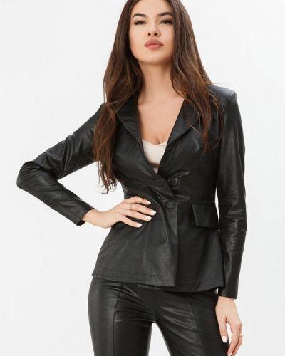 Черный пиджак Gepur
