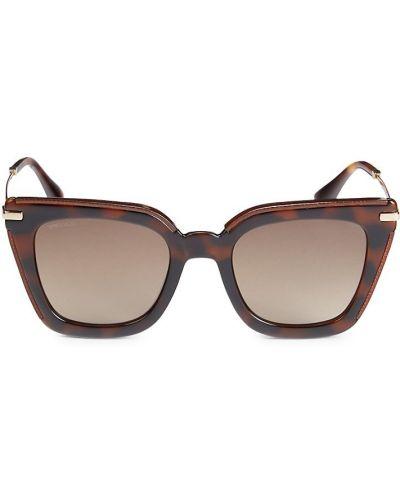 Солнцезащитные очки металлические Jimmy Choo
