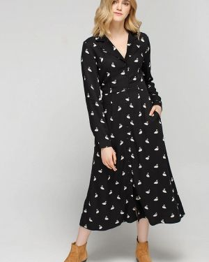 Платье платье-пиджак черное Musthave