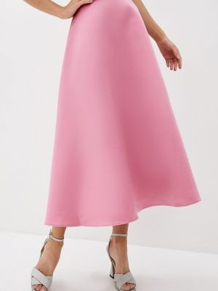 Платье розовое широкое Trendyangel