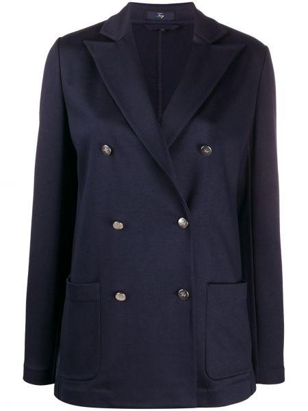 Удлиненный пиджак с карманами Fay