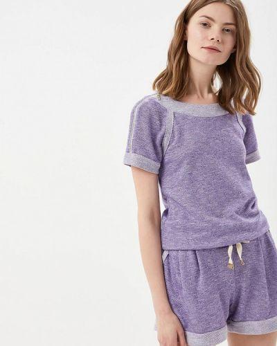 Комбинезон с шортами фиолетовый Ricamare