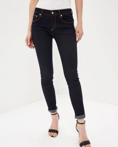 Зауженные джинсы - синие Versus Versace